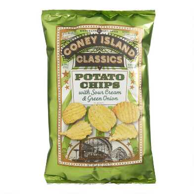 Coney Island Classics Sour Cream and Onion Potato Chips