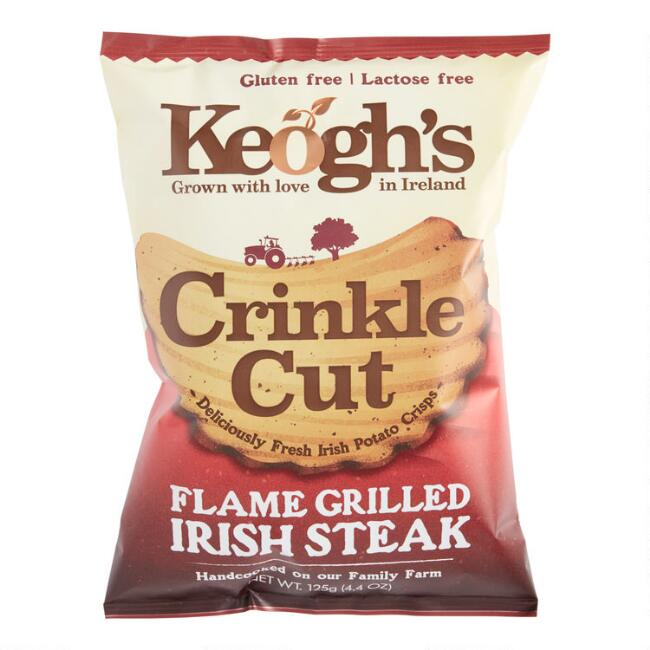 Keogh's Crinkle Cut Flame Grilled Irish Steak Potato Chips