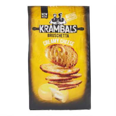 Krambals Creamy Cheese Bruschetta Crisps