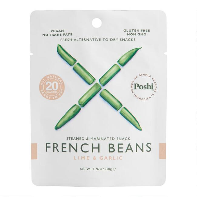 Poshi Lime and Garlic Marinated French Beans Snack Size