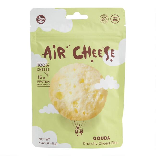 Air Cheese Gouda Crunchy Cheese Bites Set of 10