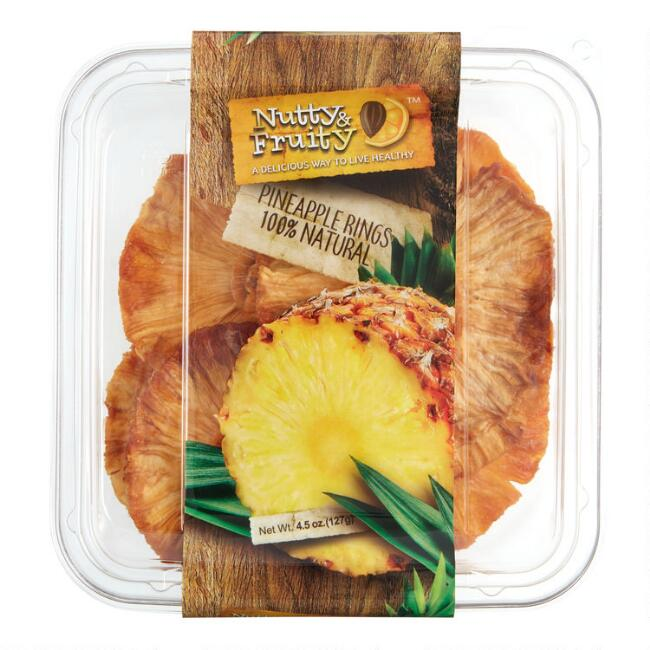 Nutty Fruity Pineapple Slices