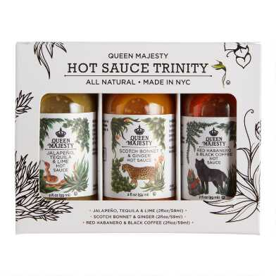 Queen Majesty Hot Sauce Trinity 3 Pack