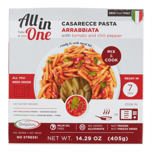 All In One Casarecce with Arrabbiata Sauce Meal Kit