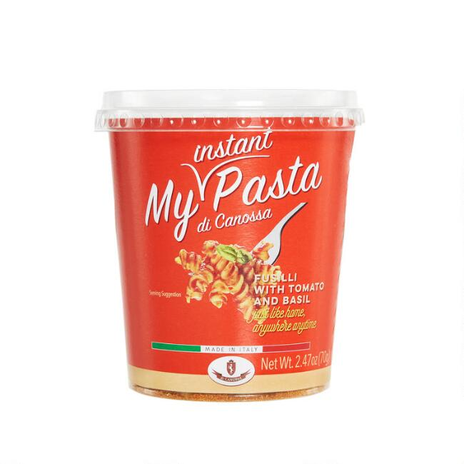 My Instant Pasta Fusilli with Tomato Basil Sauce Cup