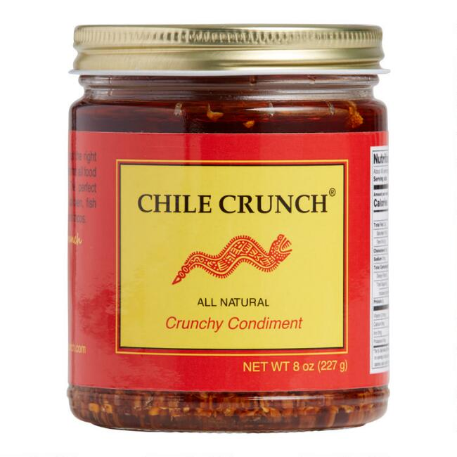 Chile Crunch Crunchy Condiment