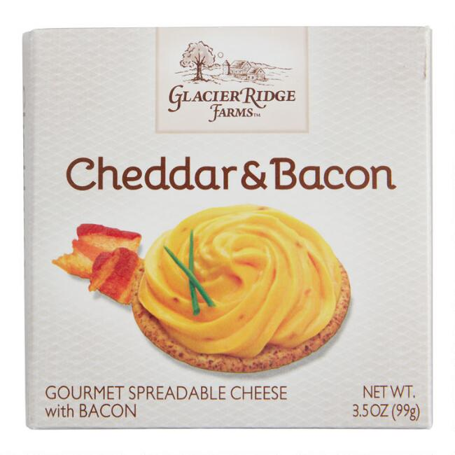 Glacier Ridge Farms Cheddar Bacon Spreadable Cheese