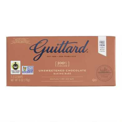 Guittard Unsweetened Chocolate Baking Bars