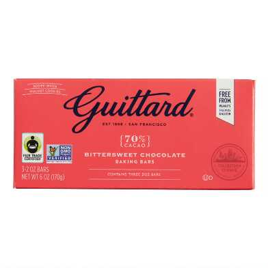 Guittard Bittersweet Chocolate Baking Bars