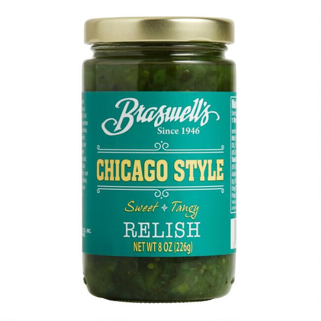 Braswell's Chicago Style Relish Set of 2