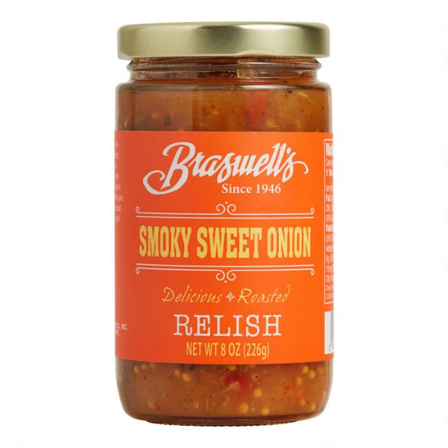 Braswell's Smoky Sweet Onion Relish Set of 2