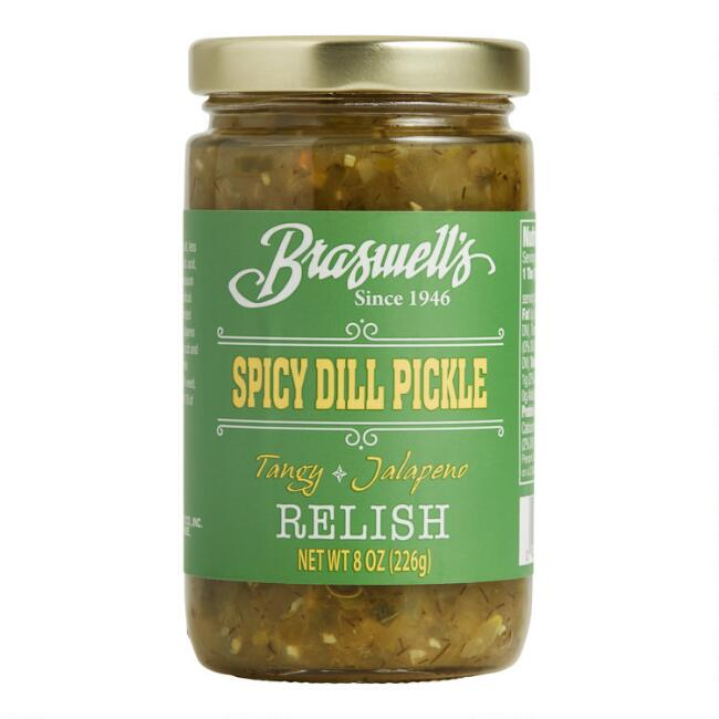 Braswell's Spicy Dill Pickle Relish Set of 2