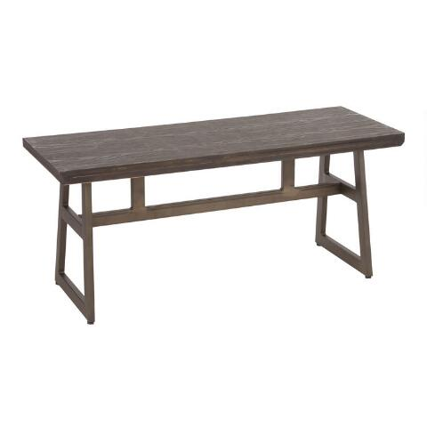 Metal Tristan Dining Bench