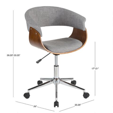 Decals For Baby Room, Light Gray Mid Century Joel Upholstered Office Chair World Market
