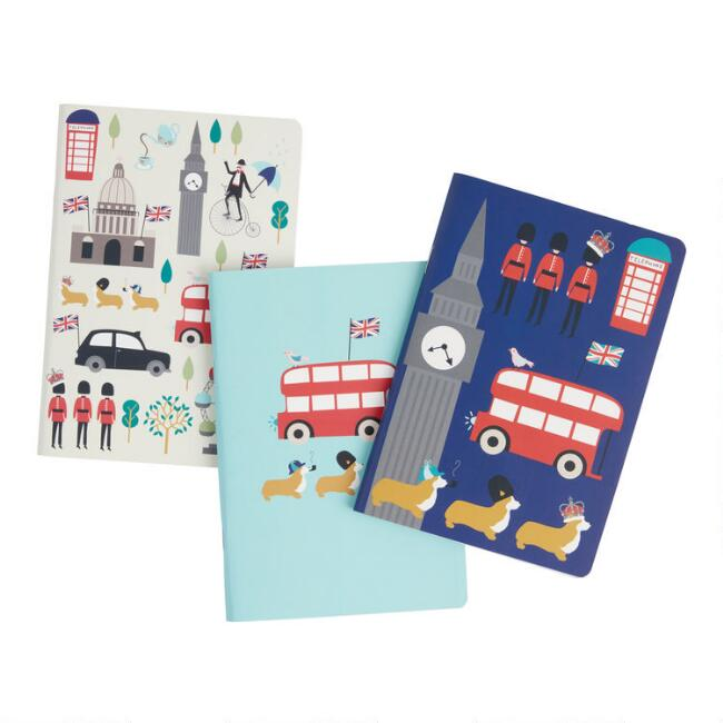 Mini London Icon Journals Set of 3