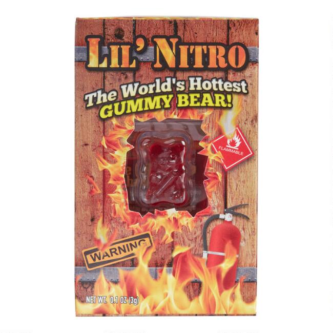 Lil' Nitro The World's Hottest Gummy Bear