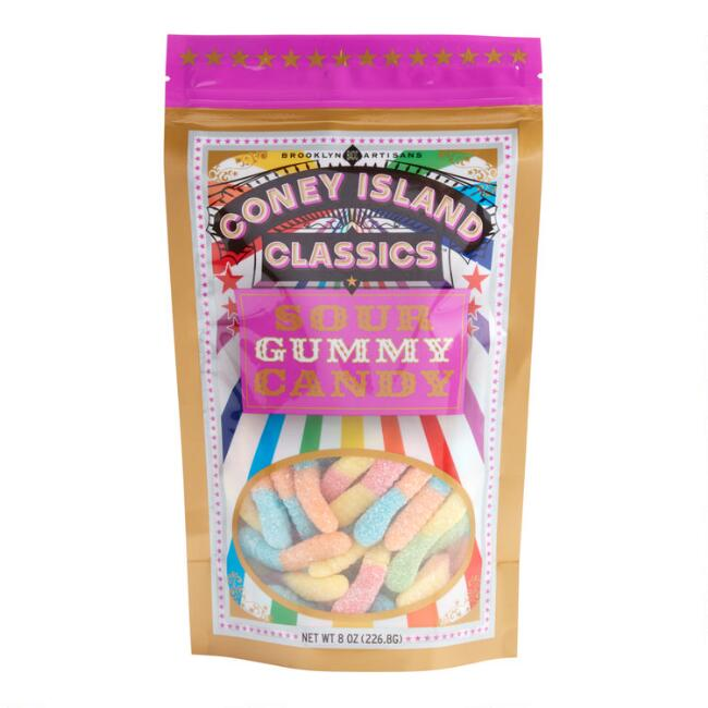 Coney Island Sour Gummy Worms