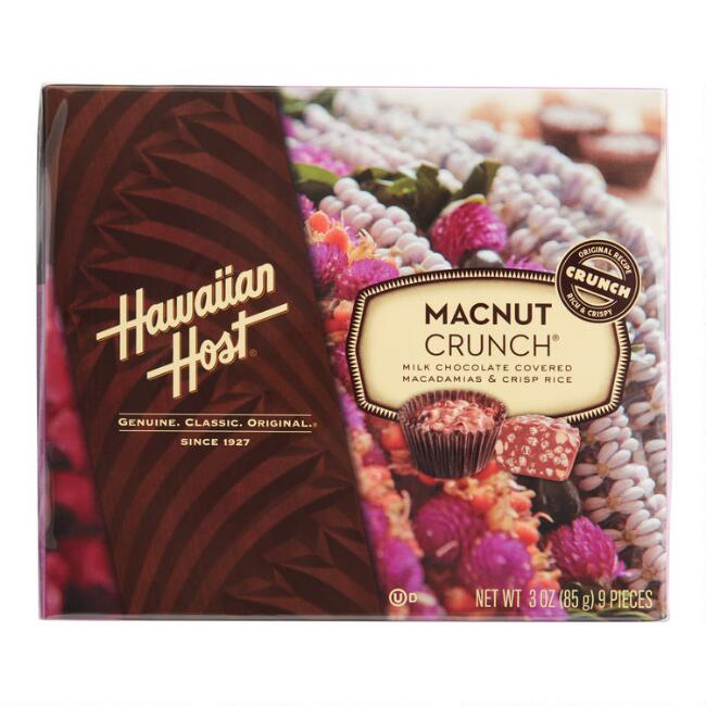 Hawaiian Host Macnut Crunch Box 9 Piece
