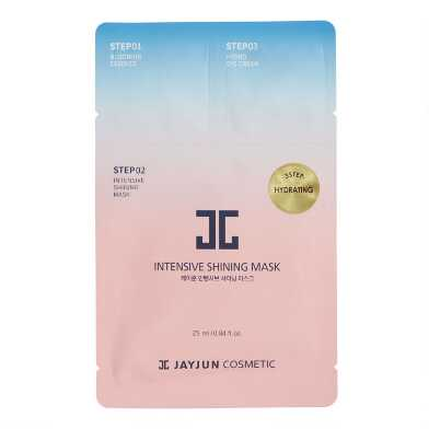 Jayjun Korean Beauty Intensive Shining Sheet Mask Set of 2