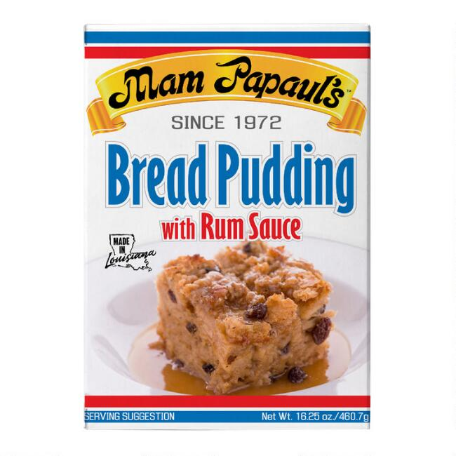 Mam Papaul's Bread Pudding with Rum Sauce Mix Set of 2
