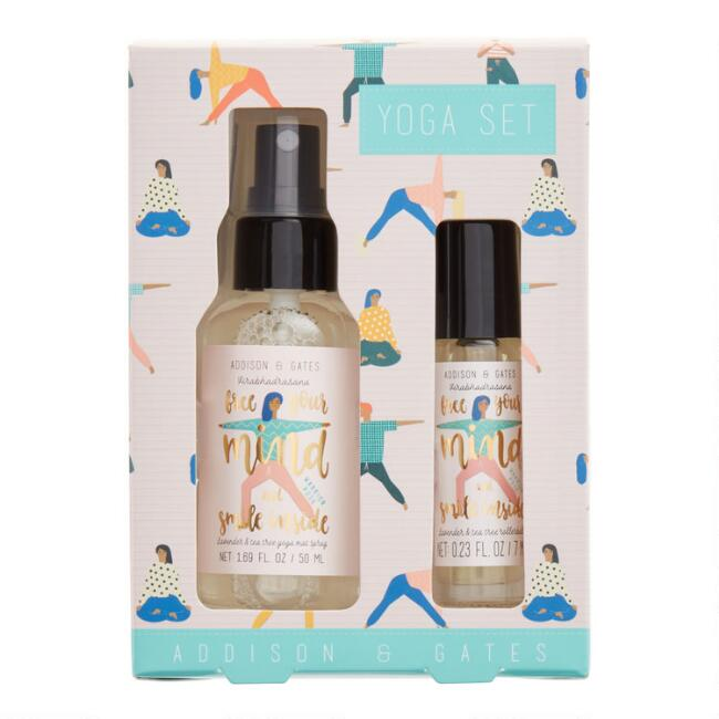 A&G Lavender & Tea Tree Essential Oil Yoga Gift Set