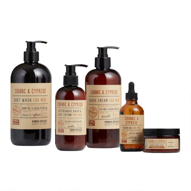 Bowman Brothers Cognac & Cypress Men's Grooming Collection