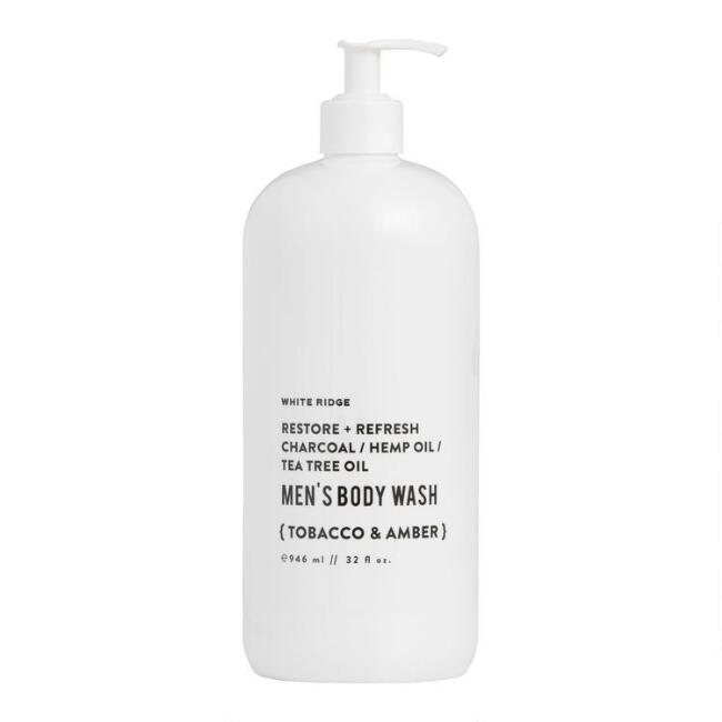 White Ridge Tobacco and Amber Men's Body Wash