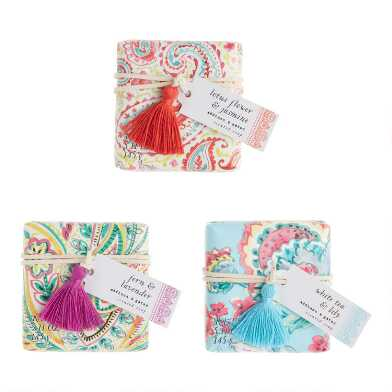 A&G Boho Tassel Bar Soap Set of 2