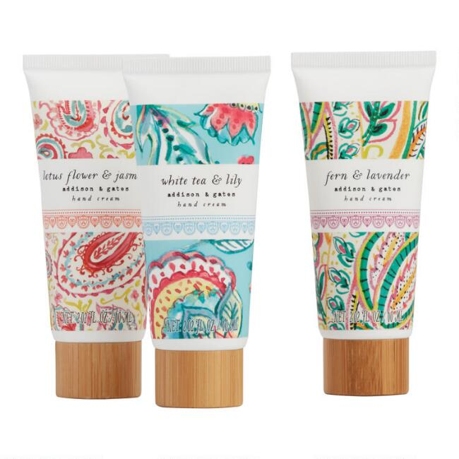 A&G Boho Floral Hand Cream Set of 2