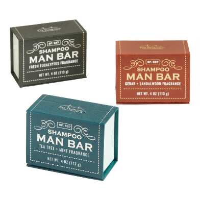 San Francisco Soap Company Shampoo Man Bar