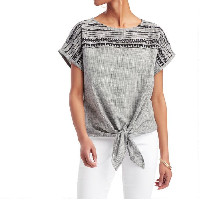 Black And White Bree Top