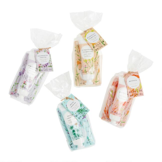 2 Piece A&G Floral Hand Care Kit Set Of 2