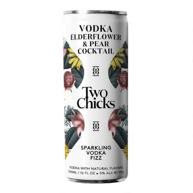 Two Chicks Vodka Fizz Can