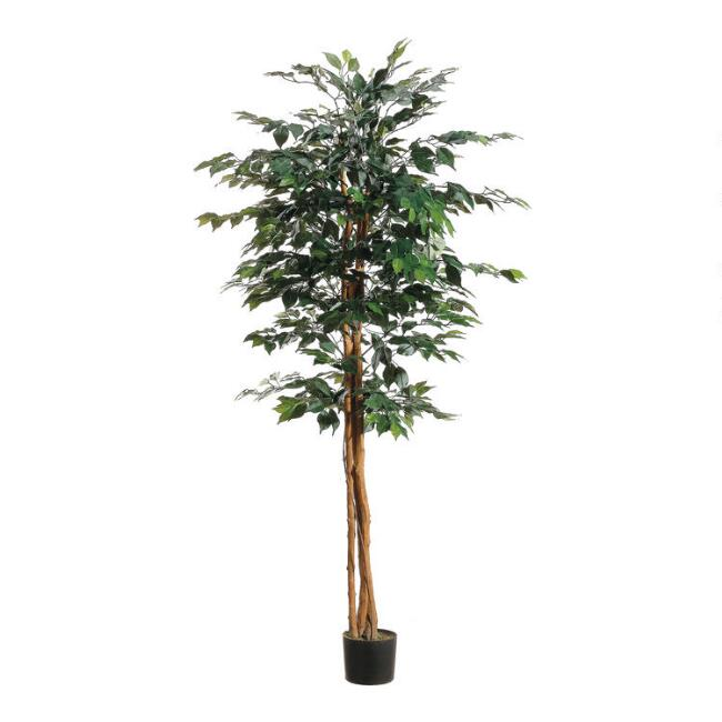 6 Foot Faux Ficus Tree