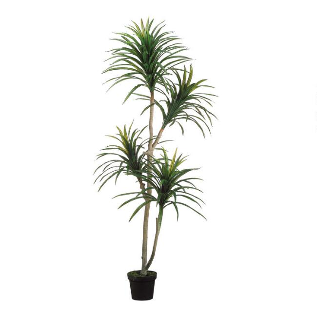 Faux Yucca Tree