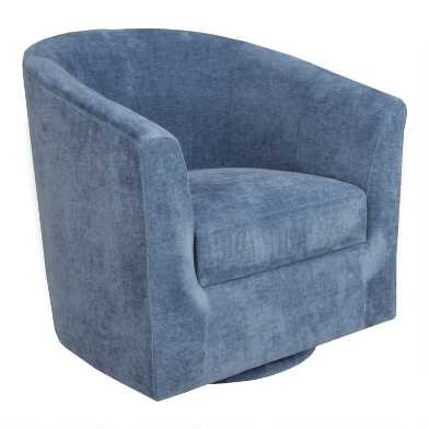 Dilton Upholstered Swivel Chair