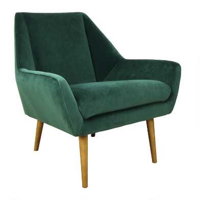 Emerald Green Austin Upholstered Chair