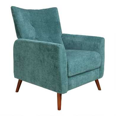 Tufted Gryffon Upholstered Recliner