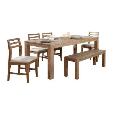 Weathered Pine Keaton Dining Collection