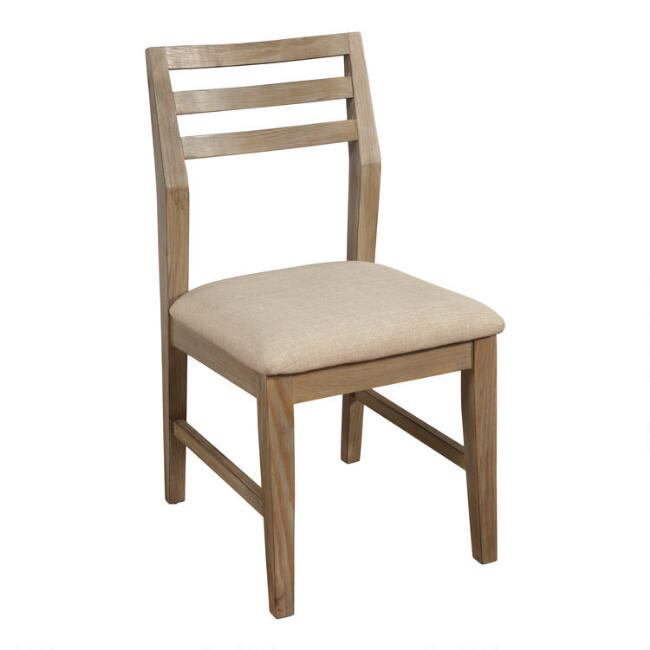 Weathered Pine Keaton Dining Chairs Set of 2