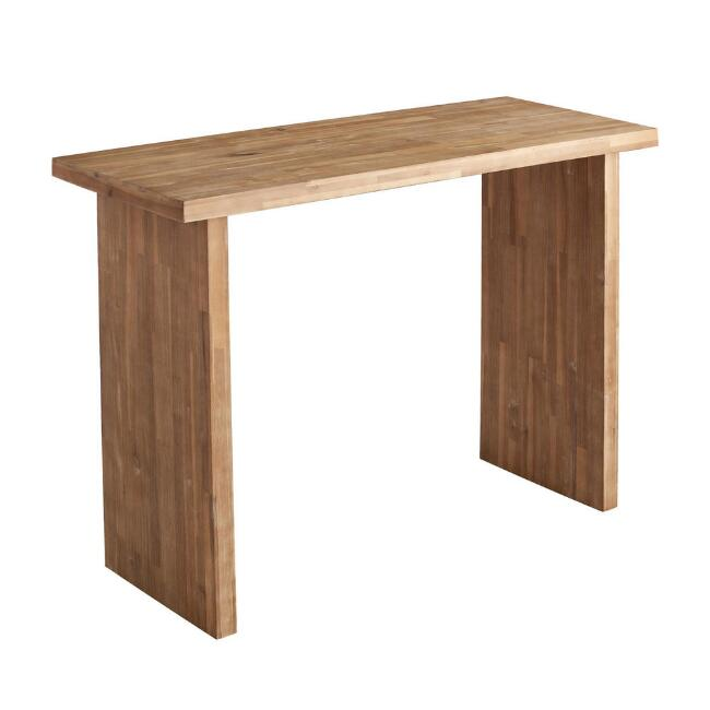 Acacia Wood Napa Outdoor Bar Table