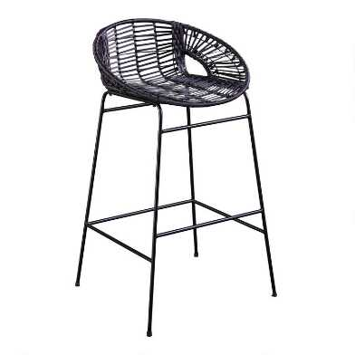All Weather Wicker Albany Outdoor Barstools Set of 2