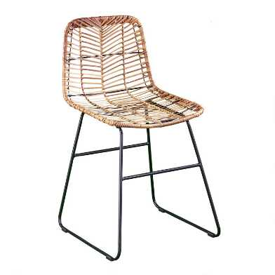 All Weather Wicker Naveen Dining Chairs Set Of 2