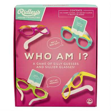 Ridley's Who Am I? Quiz Game