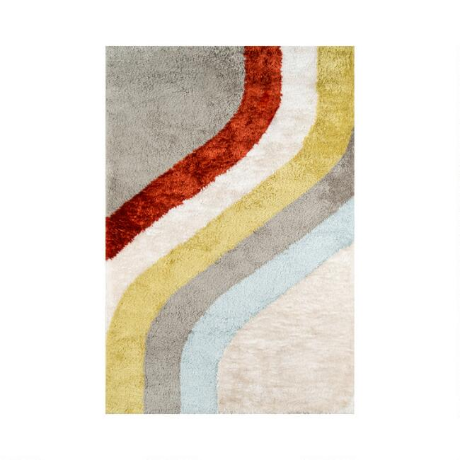 Multicolor Retro Jaxon Area Rug