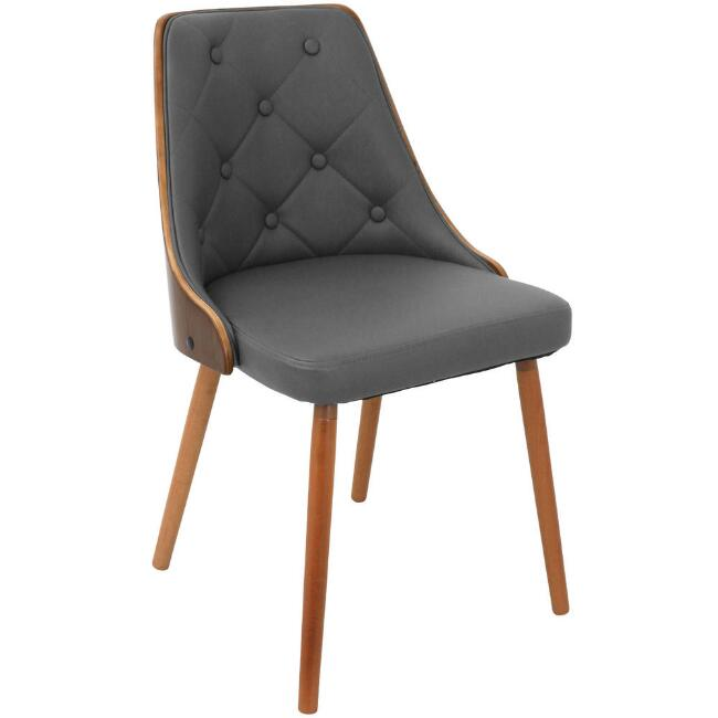 Faux Leather Tufted Carter Upholstered Dining Chair