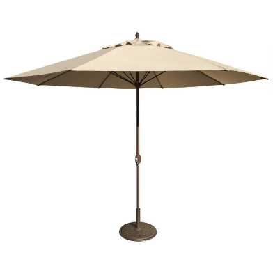 Khaki 11 Ft Patio Umbrella