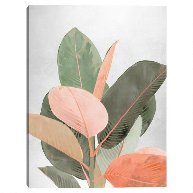 Planted Pastels Canvas Wall Art