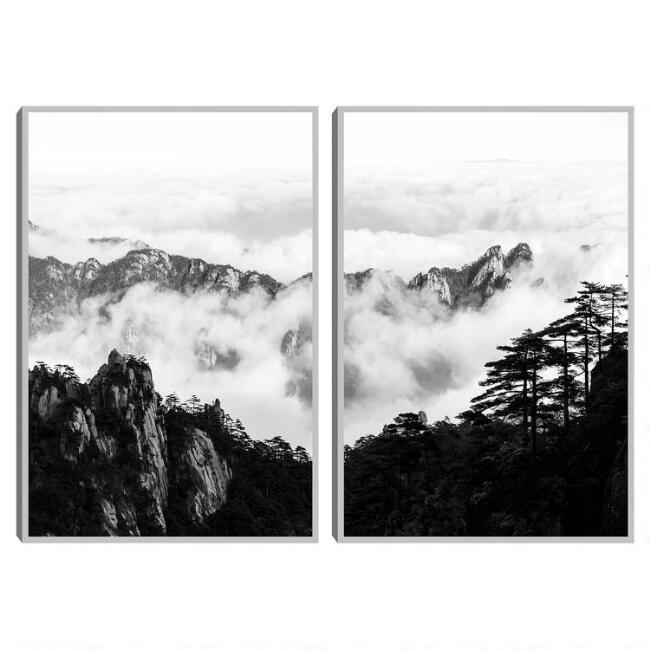 Majestic Morning Diptych by Henry Wentz Wall Art 2 Piece