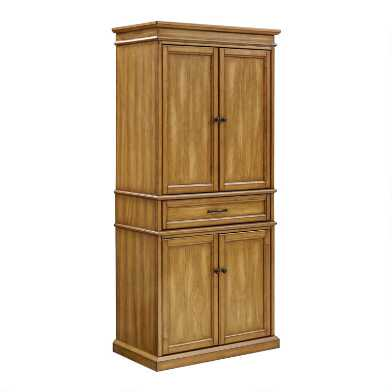 Wood Nolan Kitchen Pantry Cabinet